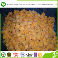 Chinese grade A healthy fresh frozen pumpkin