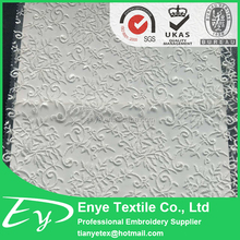 New design tulle mesh plain embroidery fabric