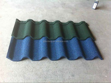 light weight corrugated steel stone coated metal roofing tile of construction roof material factory direct supply