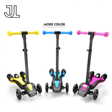 RUNSCOOTERS 2017 led light three wheel rockets spray fire cheap kids kick scooters for sale