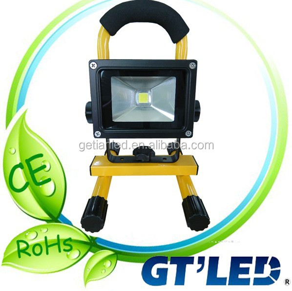 2014 new design rechargeable led floodlight,led projector 12v,battery powered floodlights dimmable rechargeable flood light