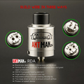 The newest design atomizer The Antman 24 Large caliber delrin drip tip with Adjustable airflow