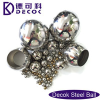 drilled stainless steel balls with a hole