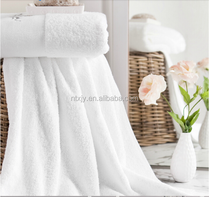100% Cotton Bath Linen Hotel White towels