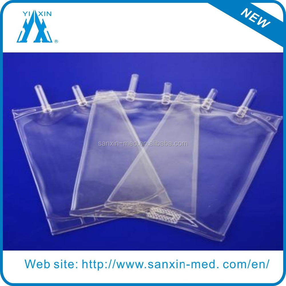 Disposable sterile Infusion bag iv bag