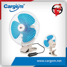 CARGEM 8 Inch Oscillating 12 Volt Car Fan With Clip