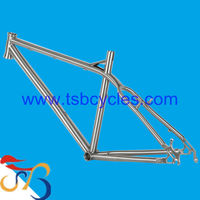 "26"" Gr9 titanium material bicycle frame in precision high quality for modle TSB-HSM0901"
