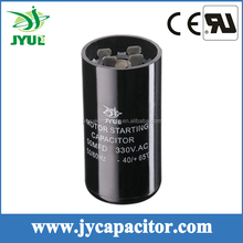 cd60 motor starting capacitor motor from china electrolytic capacitor in case