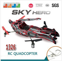 NEWEST Fantastic Sky Hero RC Toy, 2.4G 4CH Rc