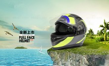 Unique High Quality Full Face Casque Motorcycle Helmet JK316-2 with ECE Certification