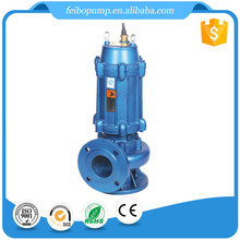 Wholesale Price High Quality WQ Series Vertical Three Phase Eletric Motor Centrifugal Submersible Sewage Waste Water Pump