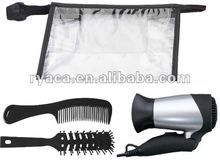 Trvael Hair Styler gift set with hair dryer & brush & comb