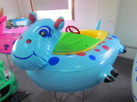 Hot-selling new design amusement water electric bumper boat & yacht for sale