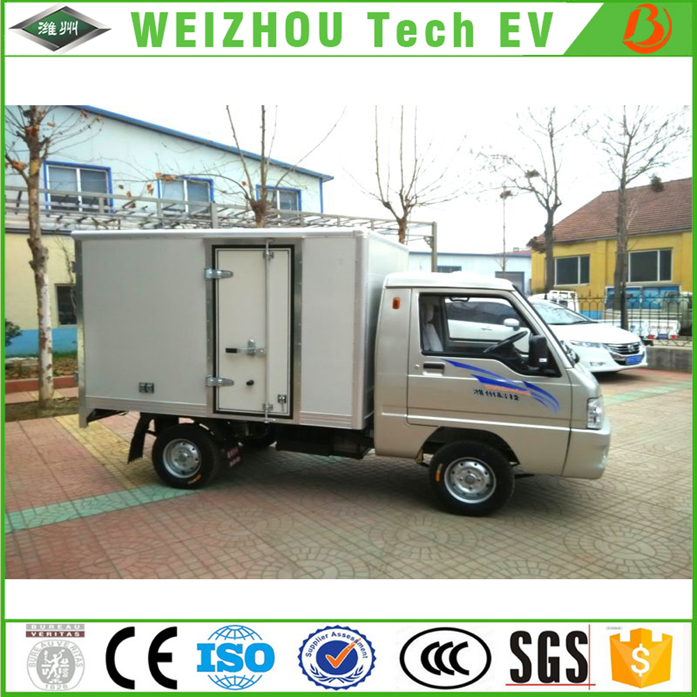 2017 Customized EEC Electric Courier Truck/electric cargo van From China