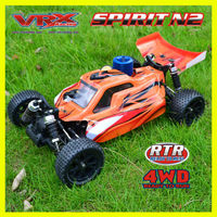 1:10 rc car, nitro buggy,two speed,good appearance
