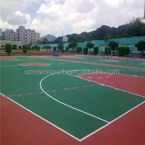 FIBA Standard basketball court sports flooring