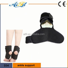 2016 manufacturer Hot sale on ebay elastic ankle wrap adjustable medical CE ankle support