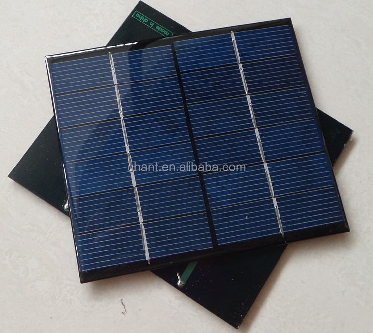 DIY solar panels A level polysilicon 6 v 2.5 W solar panels,cheap solar panel for india market