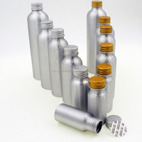 Free samples 30ml 50ml 100ml 250ml aluminum bottle with cap for essential oil or beer