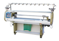 china manufactured single system automatic sweater flat knitting machine