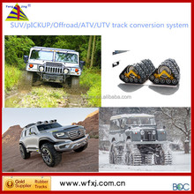 All-terrain SUV conversion system /rubber track vehicle / 4x4 tracks