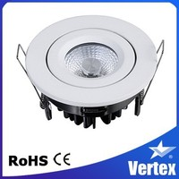 Foshan Factory COB LED Circular Ceiling Intertek LED Light