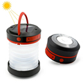 Solar Power Bank Pocket Lantern /LED Telescope Tent Lamp/Rechargeable Solar Lantern