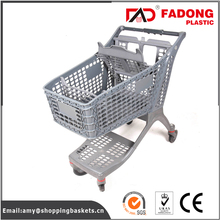 types of liquor service plastic shopping trolley