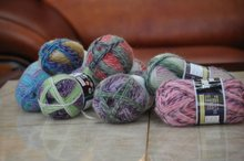 hand knitting yarn combed cotton yarn can be dyeable for 40 colors