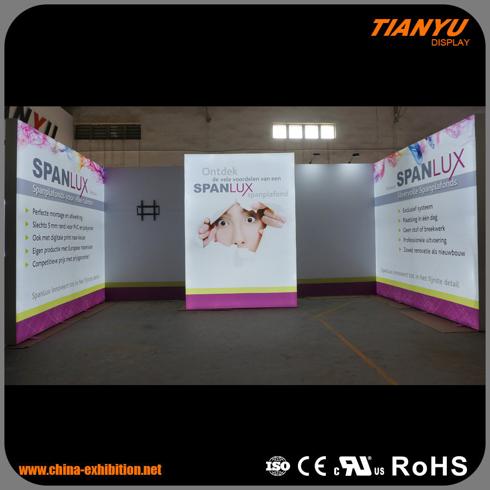 Factory Price Exceptional Customize Trade Show 320X160 Led Display Module Exposure System Booth