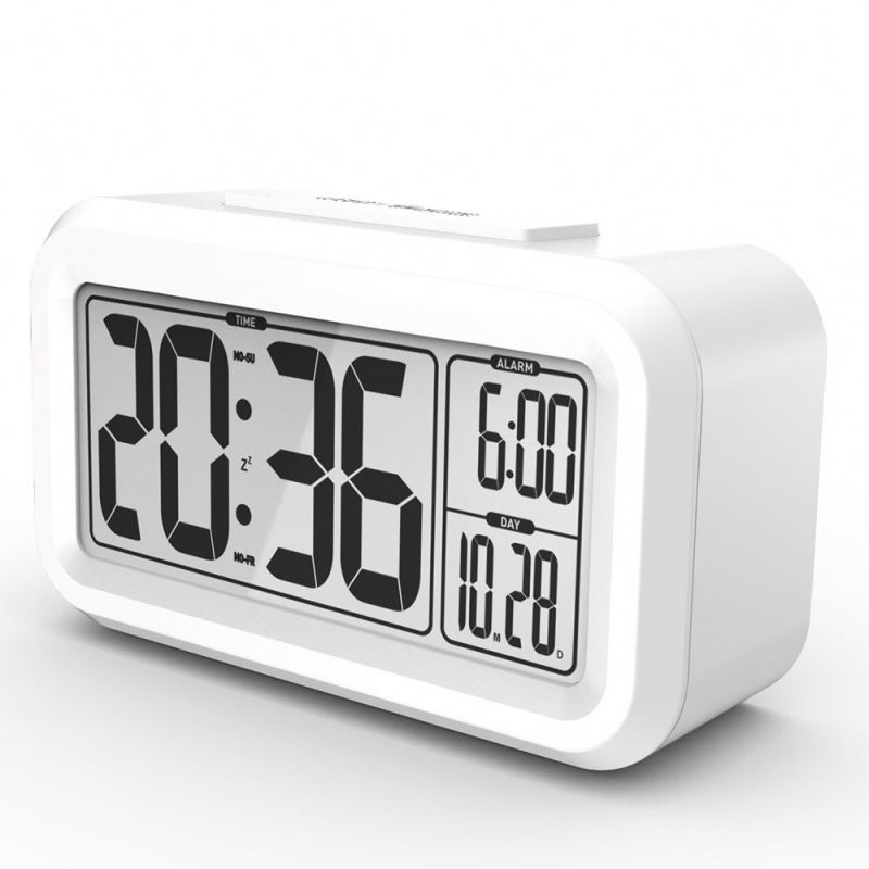 zogift 2018 March Discount Festival Digital Smart Night Light Snooze Alarm Clock