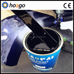high quality 2K polyurethane international black car paint