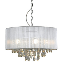 Modern industrial lighting pendant lamp large crystal bedroom hotel chandelier pendant lamps