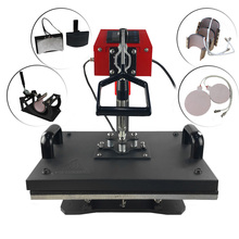 Hot sale Multi-purpose 8 in 1 combo heat press machine/ multifunctional