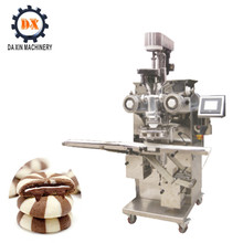 Double Color Filled Petal Striped Cookie Machine/commercial cookie machine