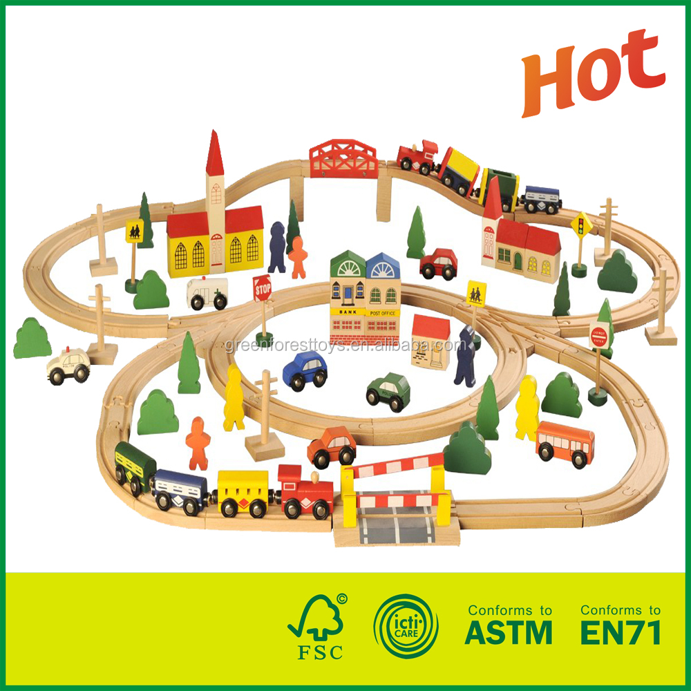 Supplier Of Wood Toys In China wooden train track