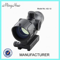 Minghao promotional price HD-19, New arrival red dot 1x32 Gun riflescope