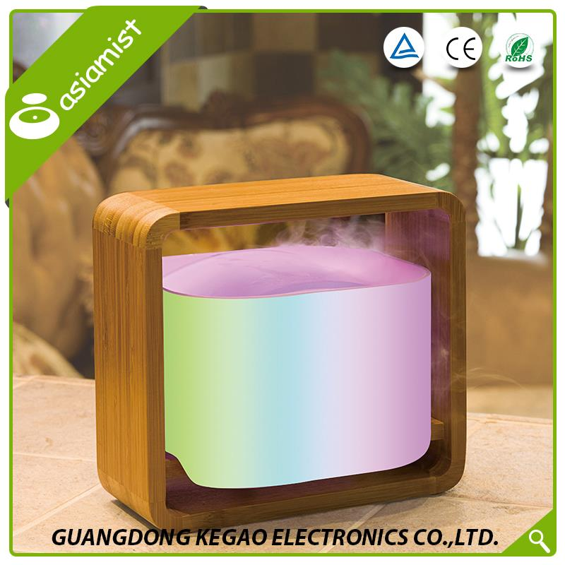 Hot sale nature study LED light wooden essential oil box