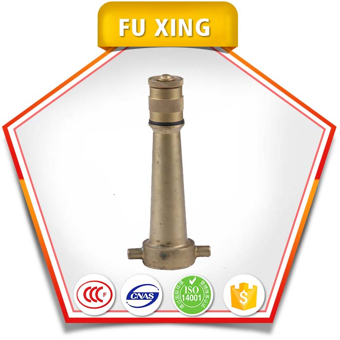 2016 hot sale nozzle fire protection equipment / water spray nozzle and jet spray Brass Fire Nozzle