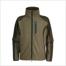 Waterproof multicolor personalized softshell jacket