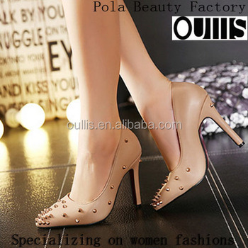 Pola beauty shoes ladies high heel shoes in china factory PY3805