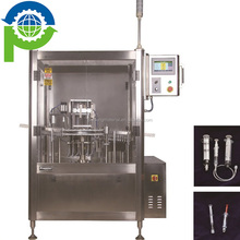 FSC108 Prefilled glass plastic disposable syringes filling machine
