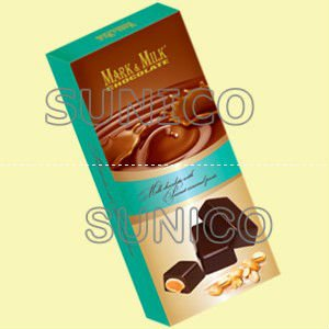 Mark&Milk Milk Chocolate Caramel 75Gr*72 Packs