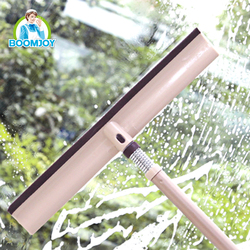 TELESCOPIC POLE HANDLE 360 DEGREE FLEXIBLE SPRING SWIVEL WINDOW SQUEEGEE FOR WINDOWS CLEANING