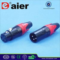 Daier xlr cable connectors