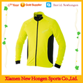 Professional sublimation yellow long sleeve cycling jerseys with OEM service