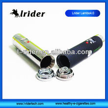 Newest!!! 2015 lrider exclusive electronic cigarette vv mod 3.0v-6.0v lrider lambo 4.0 with 18650 battery from china wholesale