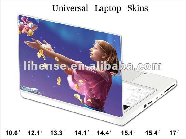 New!!! pretty girl Laptop Skin, Customization for any dimension or size is available