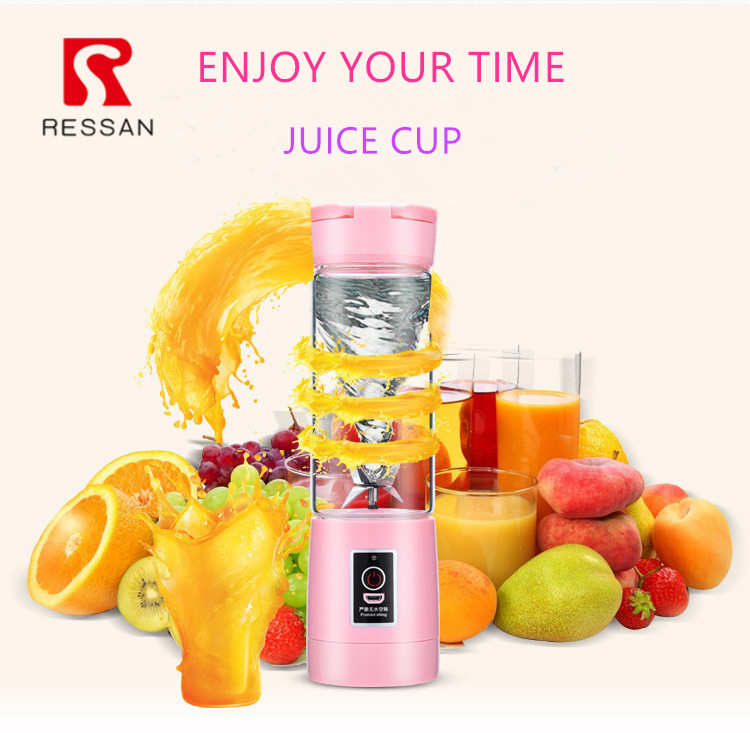 USB Electric Juicer Handheld Smoothie Maker battery operated blender cup vegetable and fruit juice mixer machine