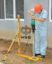 Electric Earth Hole Drilling Machine for Solar Power Construction